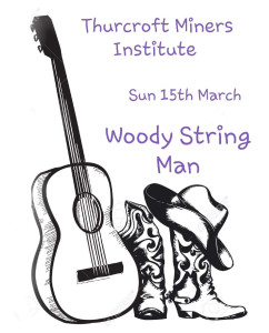 WOODY STRING MAN COUNTRY SHOW