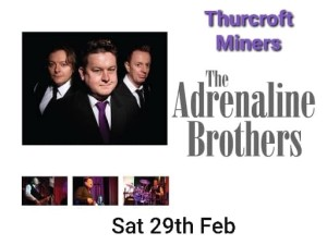 THE ADRENALINE BROTHERS X MENS CLUB